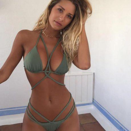 Brazilian Bikini Strapless Halter