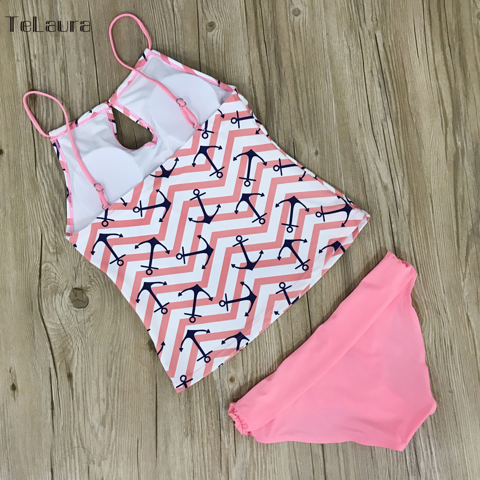 Sexy Bikinis Women's Swimwear Brazilian Bikini Tankini  Biquini High Waist Swimsuit Two Pieces Bathing Suit Summer Beach Wear 5
