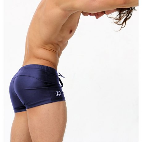Male Swim Briefs, Low Rise, Men's Nylon Swimwear, Men's Swimming