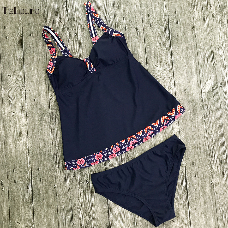 Women's Swimwear, Two Piece Vintage Bathing Suit, Print Biquini Retro Swimwear 12