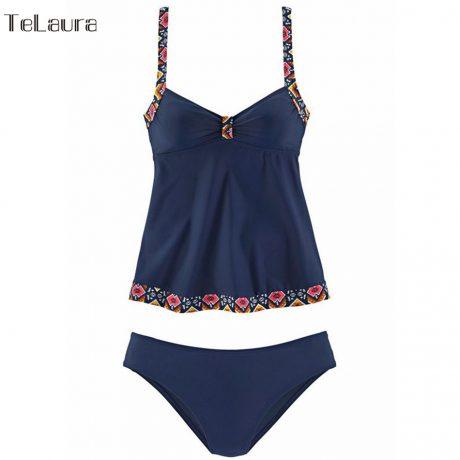 Women's Swimwear, Two Piece Vintage Bathing Suit, Print Biquini Retro Swimwear 5
