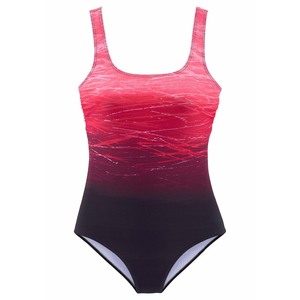 One Piece Swimsuit, Women's Bandage Vintage Beach Wear, Solid Bathing Suit, Monokini Retro Swimsuit 18