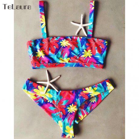 2019 New Sexy Bikini Swimwear, Women's Bikinis, Biquini Print Brazilian Bikini Beach Wear 2