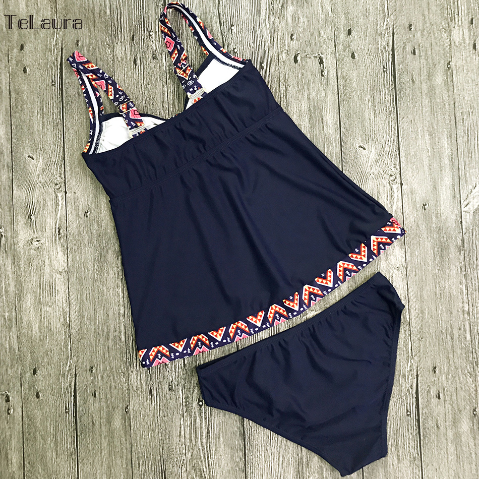 Women's Swimwear, Two Piece Vintage Bathing Suit, Print Biquini Retro Swimwear 13