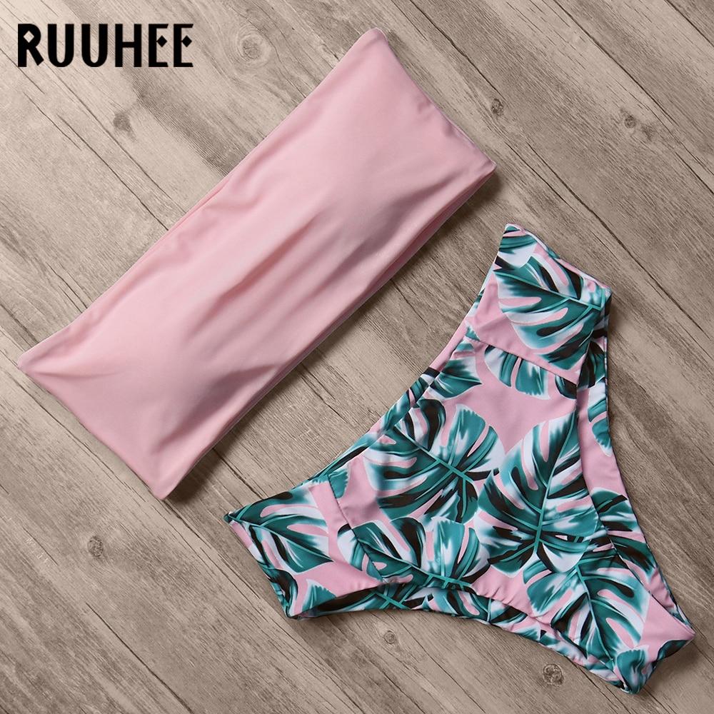 Bandage Bikini, Women's Swimsuit, High Waist, Bikini Set, 2019 Bathing Suit, Push Up Maillot De Bain Femme Beachwear 19