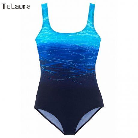 One Piece Swimsuit, Women's Bandage Vintage Beach Wear, Solid Bathing Suit, Monokini Retro Swimsuit 5