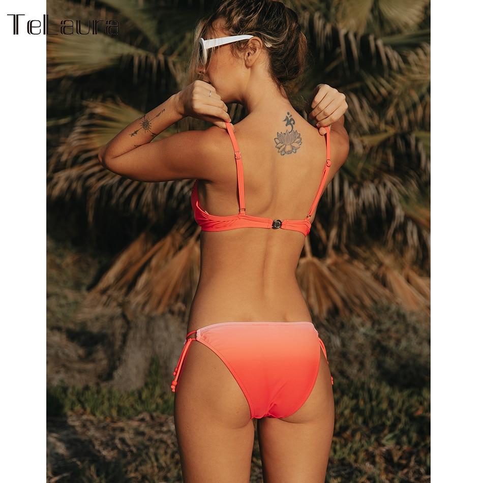2019 Sexy Bikini Swimwear, Women's Swimsuit Push Up, Gradient Bikinis, Biquini Swimsuit 6