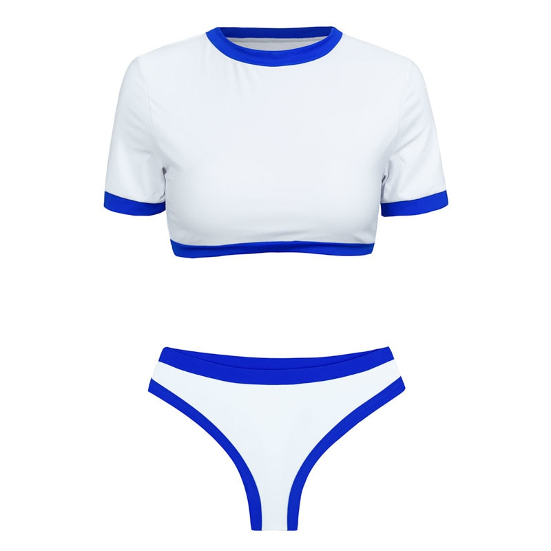 Women's Brazilian Thong Bikini, 2019 Women's T-Shirt Swimsuit, Push up, Two-Piece Suit 28