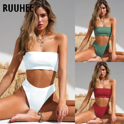 Bandage Bikini, Women's Swimsuit, High Waist, Bikini Set, 2019 Bathing Suit, Push Up Maillot De Bain Femme Beachwear